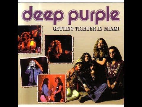 Deep Purple w/ Tommy Bolin- Jai Alai Sports Auditorium, Miami, FL 2/8/76
