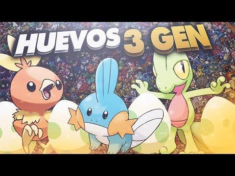 LISTA DEFINITIVA DE HUEVOS DE 3 GENERACIÓN INCLUIDOS LOS HYPER RAROS | POKÉMON GO!