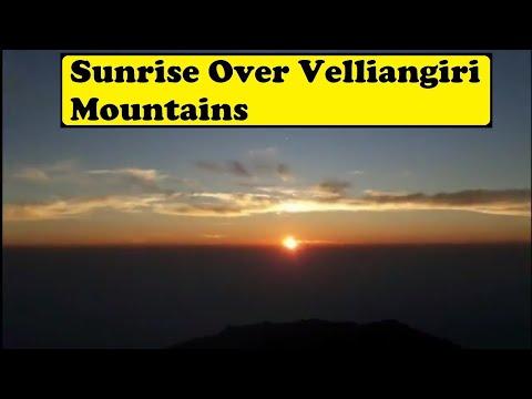 Amazing sunrise | velliangiri mountain |