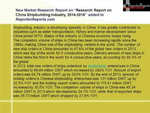 China Shipbuilding Market 2018