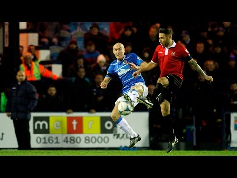 Stockport County Vs FC United Of Manchester - Match Highlights - 05.12.15