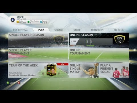 FIFA 14: Ultimate Team Trailer - New Features Explained with real images!