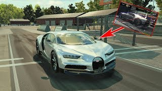 РЕПЛИКА ГОТОВА! ДВИГАТЕЛЬ ОТ AMG! BUGATTI CHIRON - CAR MECHANIC SIMULATOR 2018