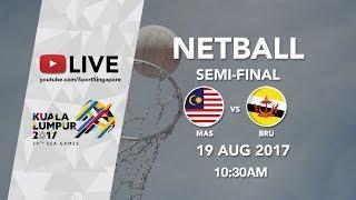Video Netball Semi-final Malaysia 🇲🇾 vs 🇧🇳 Brunei | 29th SEA Games 2017 download MP3, 3GP, MP4, WEBM, AVI, FLV Agustus 2017