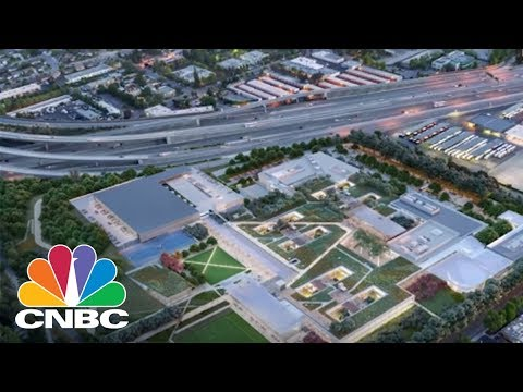 Microsoft Just Unveiled Plans For A New Sustainable Campus In Silicon Valley | CNBC