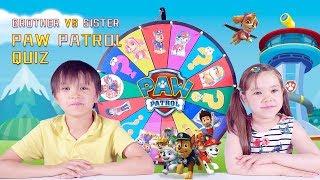 Paw Patrol Quiz for kids - Fortnite Dancing vs. GANGNAM STYLE