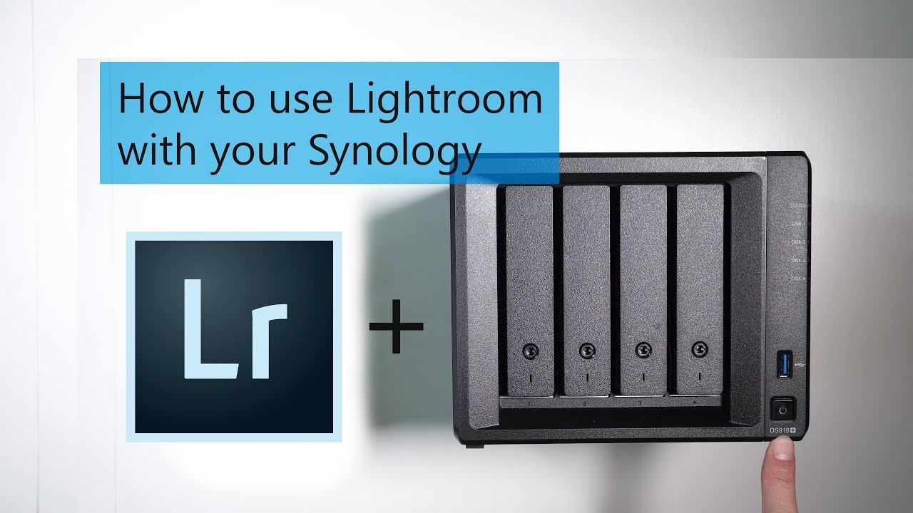 How to use Lightroom with your Synology - IMDB YT
