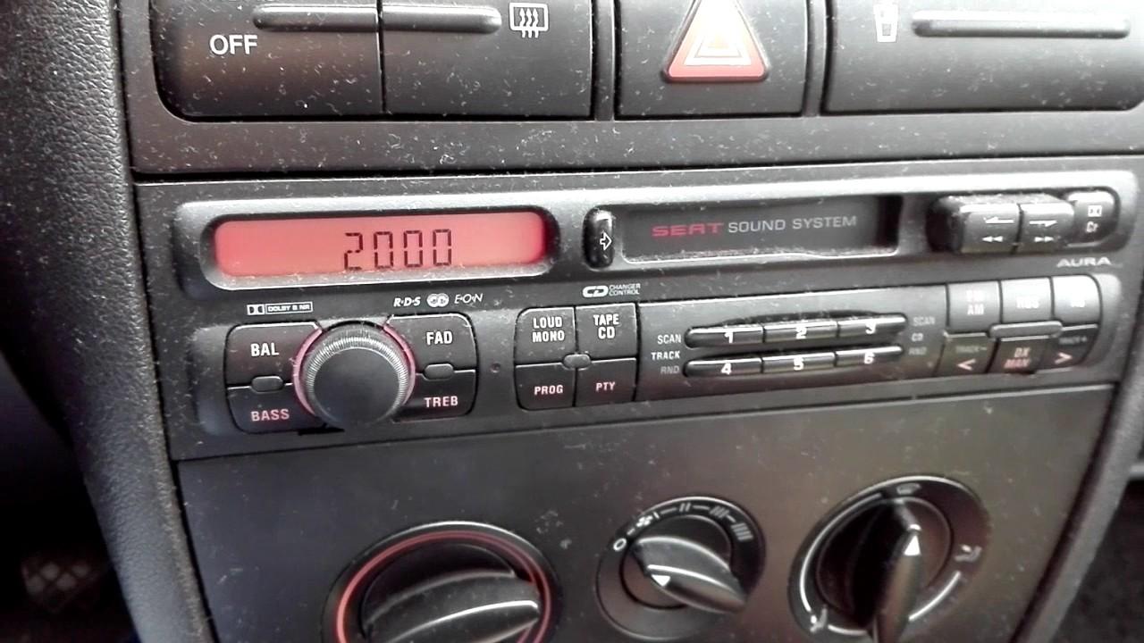 Ogromny Seat Leon I rozkodowanie radia - YouTube IC31