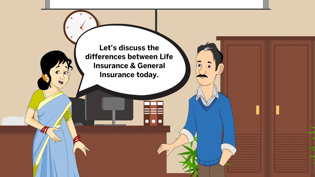 Difference Between Life Insurance General Insurance Youtube