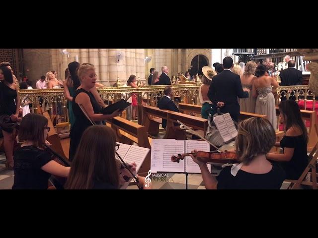 🎼 Ave Maria   Pianista Boda Murcia   Violines para Bodas   Musical Mastia