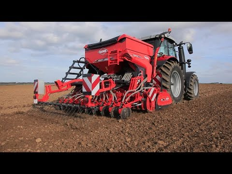 KUHN HR / CD / VENTA 1020/1030 series - seeding combinations (in action)