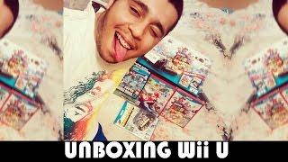 Unboxing Wii U Deluxe 32GB Bundle Super Mario 3D World + Jogos!!
