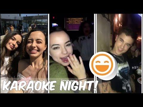 Merrell Twins - Karaoke Night! - Snapchat & IG stories
