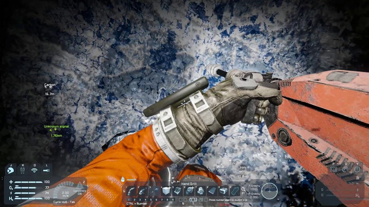 Space Engineers - Graphene Ore Extractor [Addon] Demo