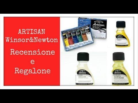 """Colori ad olio SOLUBILI IN ACQUA """" Artisan W&N"""" -Recensione- Arte per Te"""