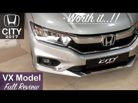 Honda City 2017 VX Model Interior,Exterior Walkaround And Review