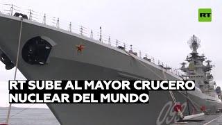 RT sube a bordo de Pedro el Grande, el mayor crucero nuclear del mundo