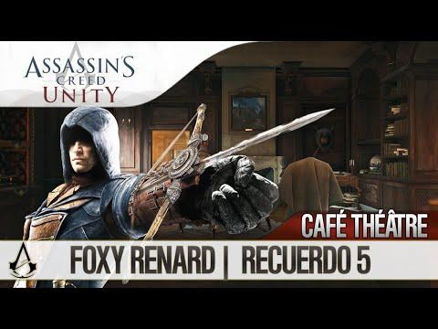 Assassin's Creed Unity   Guía Español Walkthrough   Café Théâtre   Foxy Renard   Misión 5