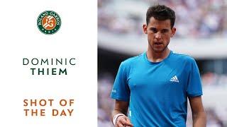 Shot of the Day #8 - Dominic Thiem | Roland-Garros 2019