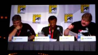 Futurama cast does a table read at the San Diego Comic Con 2010