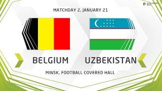 Development сup 2020 Belgium vs Uzbekistan
