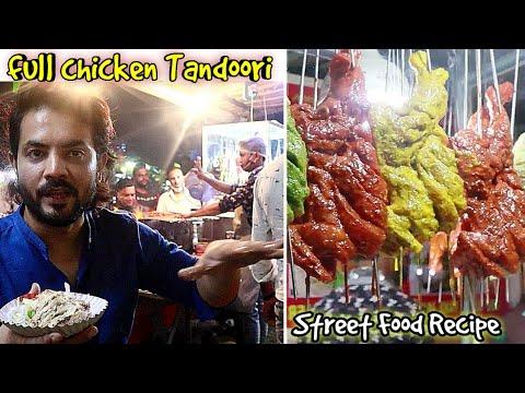 How to make Chicken Tandoori Chicken Tandoori Street Food Recipe My Kind of Productions