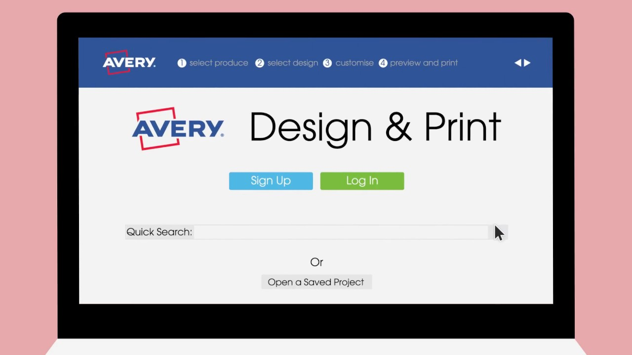 Design Print Template Software Avery