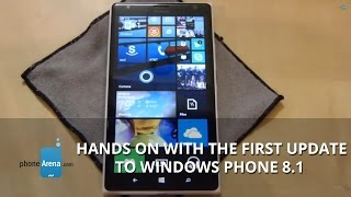 Hands on with the first update to Windows Phone 8.1