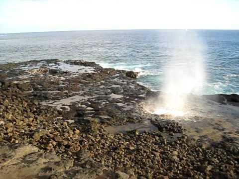 Kauai's Spouting Horn