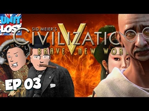 Civilization V: Brave New World Let's Play - Chindia WARS 2! Part 03