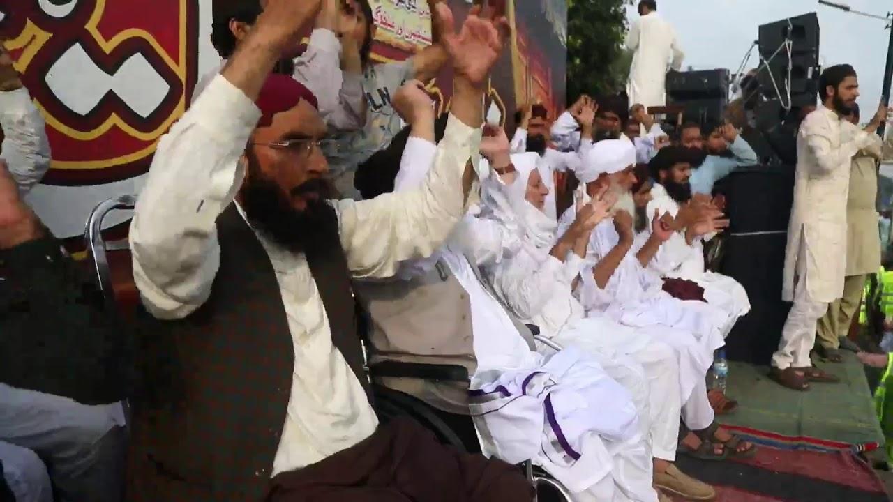 Allama Khadim Hussain Rizvi   Live Namoos E Risalat March