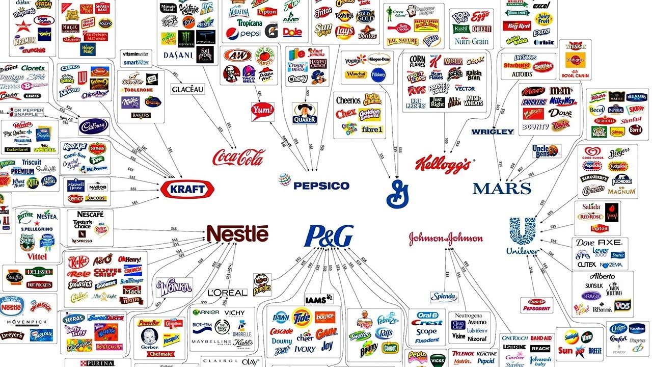 Diese 10 Konzerne Produzieren Alles Was Du Kaufst 😲  Youtube