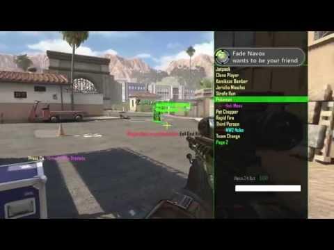 Bo2 Mod Menu Trolling | Public Match | Xbox360