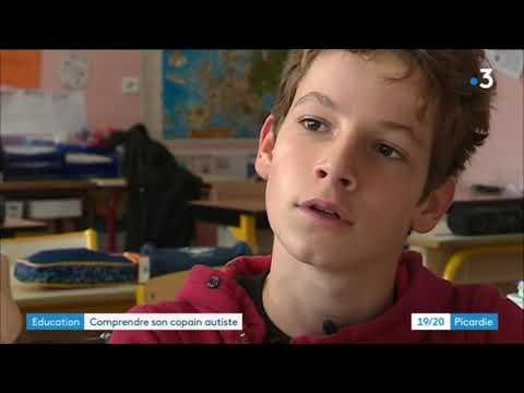 À Abbeville, comprendre son copain autiste à l'école