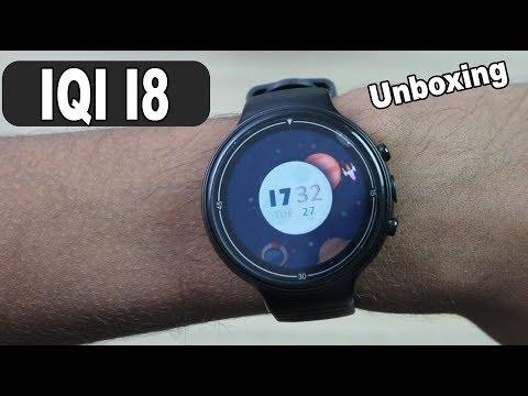 IQI I8 SMARTWATCH PHONE! O PRIMEIRO DO BRASIL! Unboxing E Análise