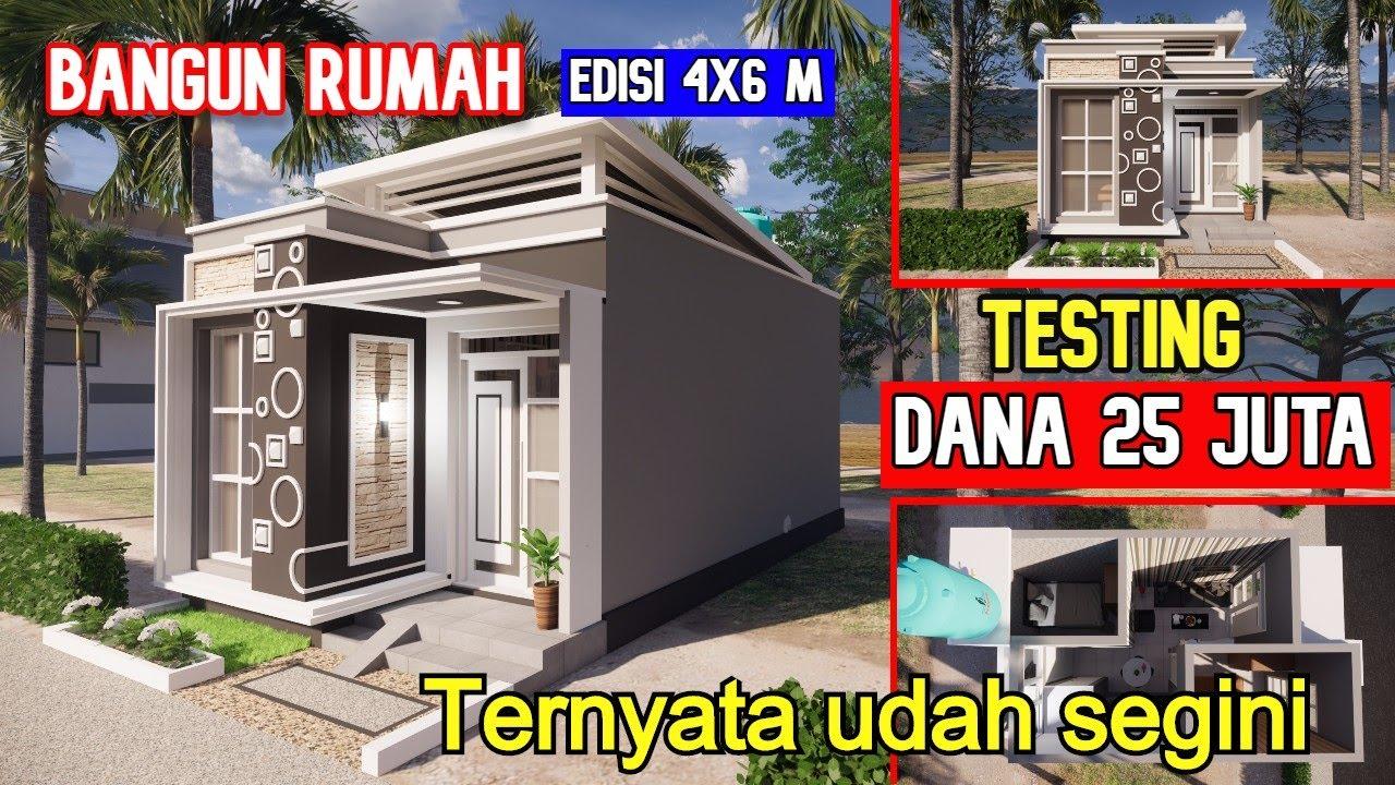 Desain Biaya Rumah Ukuran 4×6