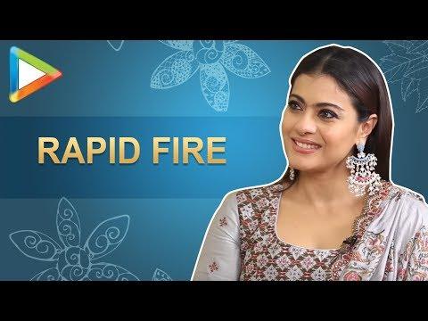 Viral Alert: Kajol's SUPER-DUPER rapid fire on SRK, Salman, Pee Cee | Helicopter Eela