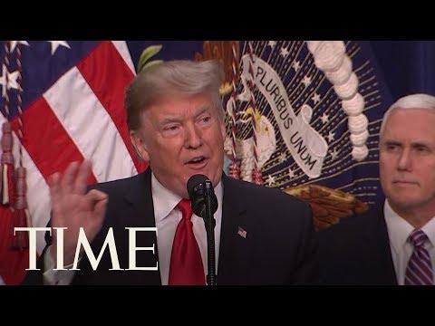 Trump Defends Move To Risk Government Shutdown   TIME