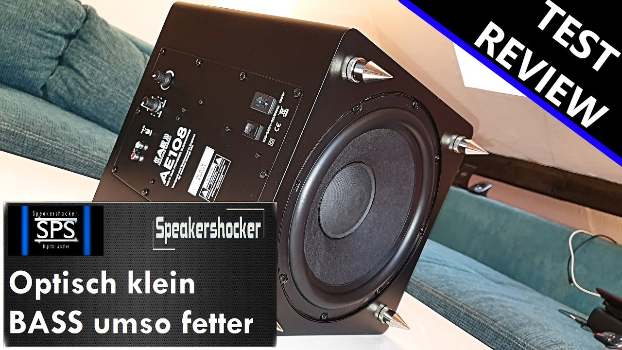 Subwoofer Test Acoustic Energy AE108   Review   Soundcehck   Basstest. Der  Bass kommt tief. - YouTube