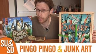 Junk Art and Pingo Pingo - Shut Up & Sit Down Reviews