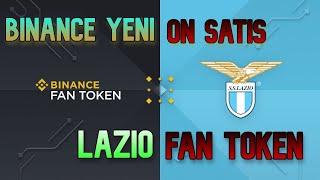 Binance Yeni ÖN SATIŞ - Lazio Fan Token Launchpad Nasıl Katılınır
