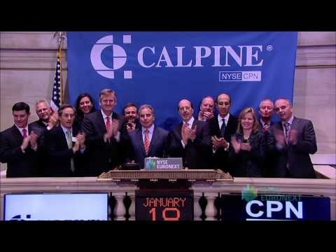 Calpine Corporation Celebrates 5 Years of Trading on the NYSE