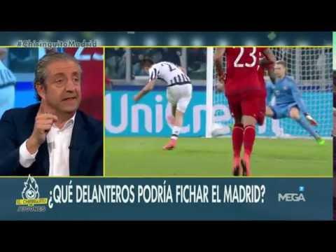 Diego Plaza analiza los delanteros que podría fichar el Real Madrid
