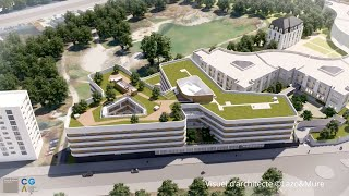 Un nouveau bâtiment dédié aux patients atteints de troubles neurocognitifs à l'hôpital Sainte-Périne