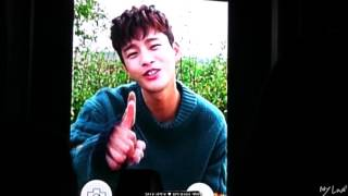 2016.10.22 서인국 팬미팅 마지막 인사  영상