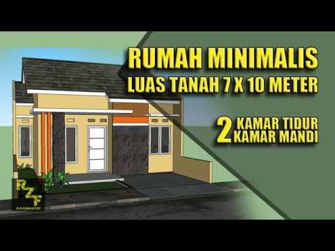 8 35 Mb Free Denah Rumah Minimalis Ukuran 7 10 Mp3 Sanderlei