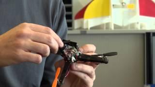 A folding drone that