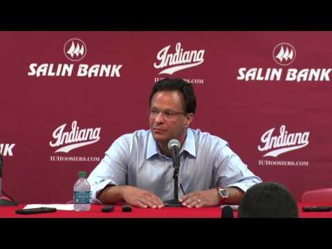 Indiana Basketball Bellarmine Tom Crean Press Conference(11-09-2015)