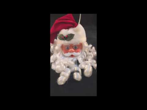 Holiday Seasons Santa Claus Musical Christmas Door Greeter