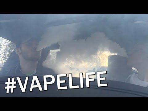 How to Vape Out a Car Like a Douche